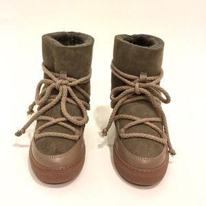 Inuikki wedge sneaker - Taupe